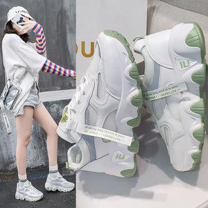 女鞋夏季新款小白休闲运动网面透气网面鞋