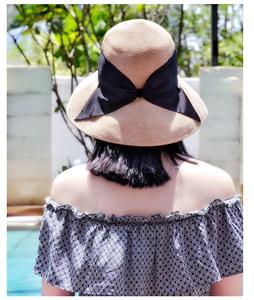 MAGENA设计进口台湾纸草VUCUT<span class=H>草帽</span>可折叠遮阳帽UPF50夏季出游新品