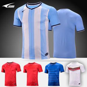 UCAN<span class=H>锐克</span>2018世界杯<span class=H>足球服</span>新款短袖夏季成人组队球衣透气 SC8371