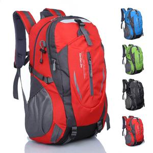 新款户外登山包大容量书包旅游双肩包男运动包女韩版旅行<span class=H>背包</span>40L