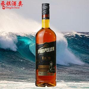 螺旋桨珍藏黑标<span class=H>朗姆酒</span> 立陶宛进口洋酒黑朗姆PROPELLER RUM 700ml