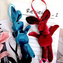 NUNNUN Recommends Small Size Registered Bag Accessories for Korean Furry Wishing Rabbit's Eternal Flower Valentine Doll