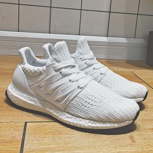 真爆米花UB4.0<span class=H>男鞋</span>子侃爷休闲小白鞋网面运动鞋3.0复古旅游跑步鞋