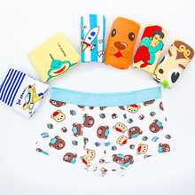 Boy's underwear cotton children's cartoon boxers Boy's warm pants Boy's Boxer Shorts