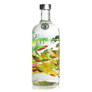 洋酒原装 ABSOLUT VODKA 瑞典 芒果味绝对<span class=H>伏特加</span>酒750毫升