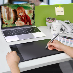 绘客T30数位板手绘板<span class=H>绘图板</span>电脑电子绘画板手写板输入板写字板