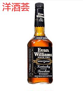爱威廉斯波本<span class=H>威士忌</span> Evan williams bourbon whiskey美国波本威