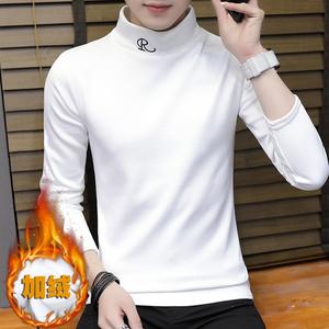 男士长袖T恤男春装圆领打底衫学生潮流卫衣春夏季短袖上衣衣服薄