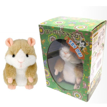 Hamster Groundhog Plush Toy Rereading Conference Learn Speech Recording Learn Tongue Little Doll's Lovely Voice Doll