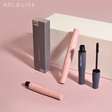 HOLD LIVE thick curled eyelash paste, berry red, brown, yellow, waterproof, anti sweat, no staining, small brush head.