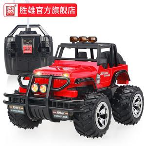 胜雄威腾rc遥控<span class=H>车模</span>型大号越野攀爬无线充电汽车吉普男孩儿童玩具