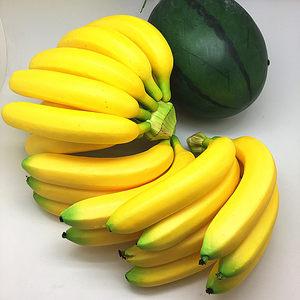 好韵仿真假香蕉串模型西瓜水果店超市仿真水果<span class=H>假水果</span>橱柜家具装饰