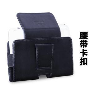 红米note4腰挂皮套穿皮带扣手机套6小米3挂腰包5.5英寸通用2壳5s