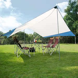 tawa帐篷<span class=H>天幕</span>户外超大多人凉棚防水篷 野营防风雨篷遮阳遮车棚