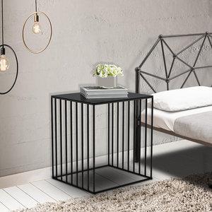 床头柜北欧经济型床边小<span class=H>柜子</span>储物柜简易卧室铁艺床头柜欧式小简约