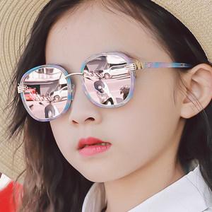 儿童偏光太阳镜男童女童<span class=H>眼镜</span>防紫外线小孩墨镜蛤蟆镜宝宝<span class=H>眼镜</span>潮
