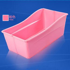 旅游出行可折叠婴儿浴盆婴幼儿童非充气浴盆浴缸宝宝<span class=H>洗澡盆</span>塑料
