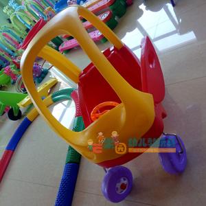 小房车 早教幼儿园塑料儿童滑行踏行<span class=H>学步车</span> 四轮扭扭车健身童车
