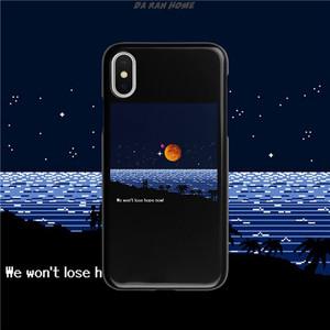 日落全包软壳手机壳<span class=H>苹果</span>XS MAX手机壳iphone8plusXR保护套可定制