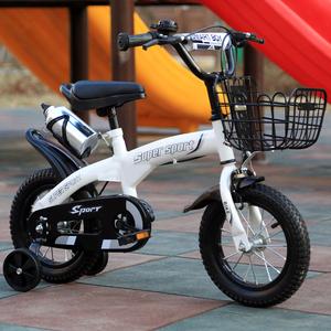 儿童<span class=H>自行车</span>3岁男女宝宝脚踏车2-4-6岁童车12-14-16寸小孩单车