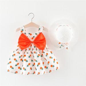 小童沙滩裙1-4女童夏装<span class=H>裙子</span>儿童连衣裙薄款夏季3岁宝宝吊带公主裙