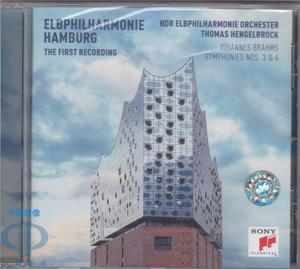 【中图音像】易北河音乐厅首个录音CD Hengelbrock 88985405082