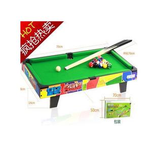包邮正品皇冠儿童台球桌 80662 桌上游戏<span class=H>玩具</span>娱乐美式大号桌球黑8