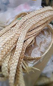 促销玉米皮叶五股玉米叶小辫子鞋原材料纯手工编织草艺品材料草绳