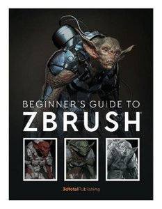 Zbrush初学<span class=H>者</span>指南 英文原版 Beginners Guide to Zbrush 3dtotal Publishing <span class=H>雕塑</span>艺术