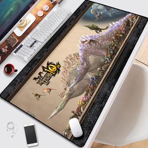 怪物猎人世界鼠标垫游戏周边电竞工作室<span class=H>电脑</span>桌垫超大键盘写字桌垫