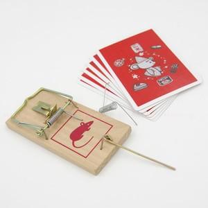 动物找牌魔术<span class=H>夹</span>找牌纸牌魔术 魔术<span class=H>道具</span>恐怖吓人Card in Mousetrap
