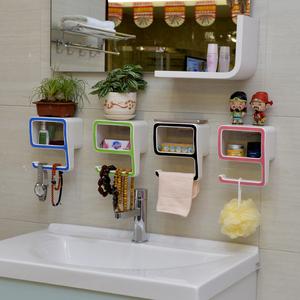 创意吸盘肥皂盒 魔力无痕贴吸壁式<span class=H>香皂</span>盒 数字9浴室卫生间置物架