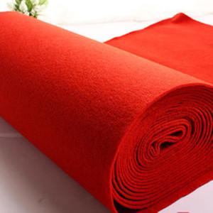 红<span class=H>地毯</span>防滑加厚开业结婚楼梯做活动专用店庆舞台展览迎宾绒面地垫