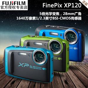 送运动6件套 Fujifilm/富士 FinePix XP120 四防<span class=H>数码</span>相机
