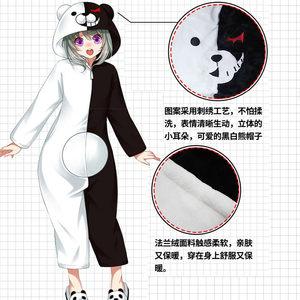 动漫周边黑白熊猫咪老师魔道连体睡衣祖师二次元滑稽梦奇安琪拉