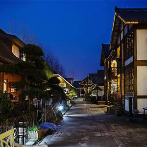 桐乡木憩园木屋特色酒店现代中式风格