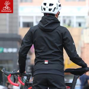 mtp2018冬季骑行服长袖套装男春秋加厚自行车服女单车衣<span class=H>服饰</span>装备